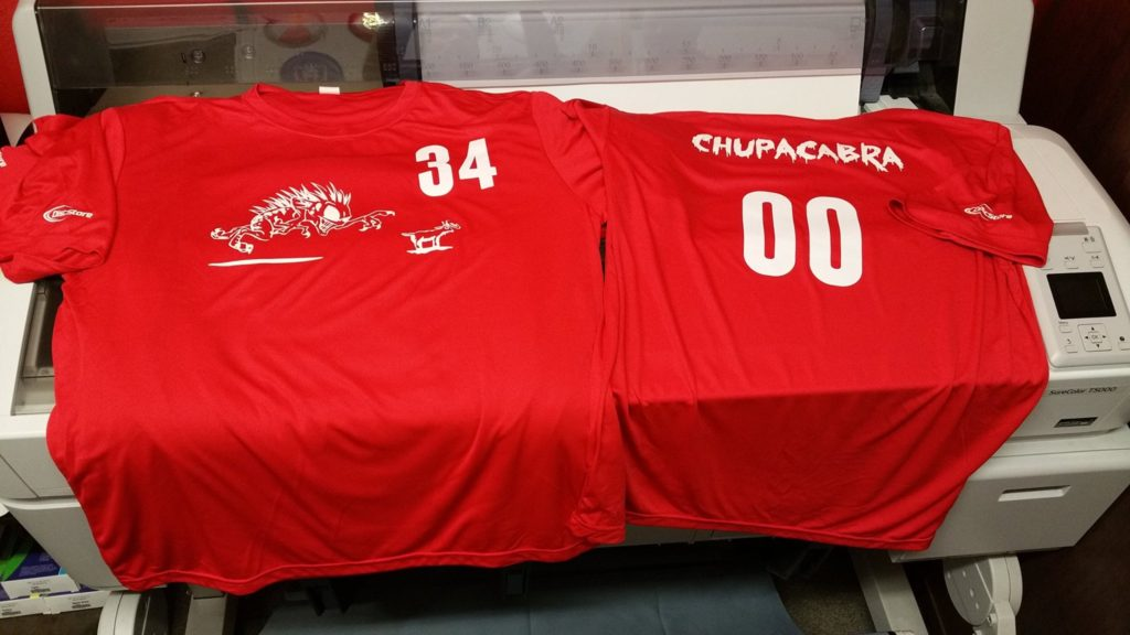 Chupacabra Team Jerseys