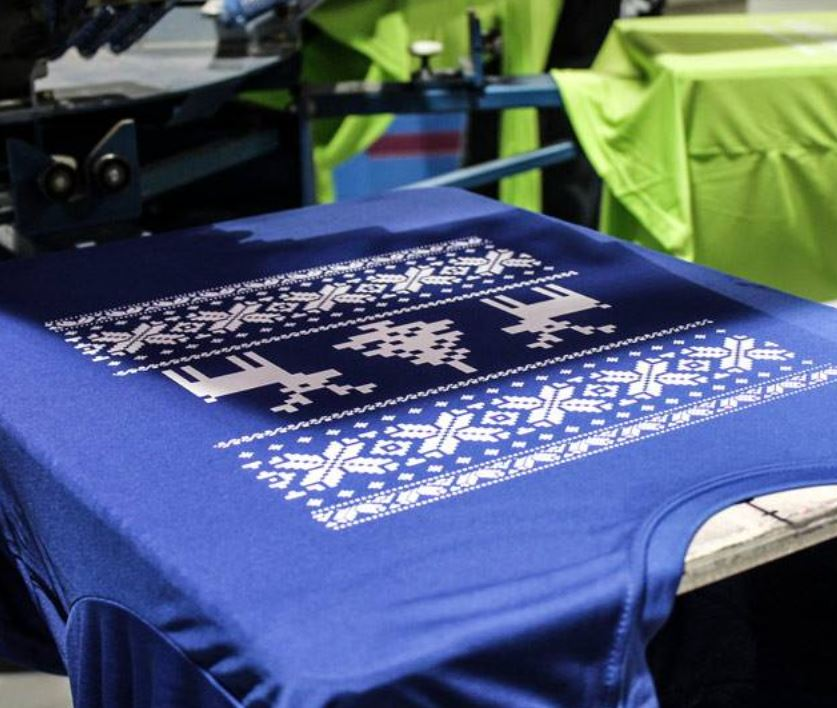 Ugly Sweater Screen Printing